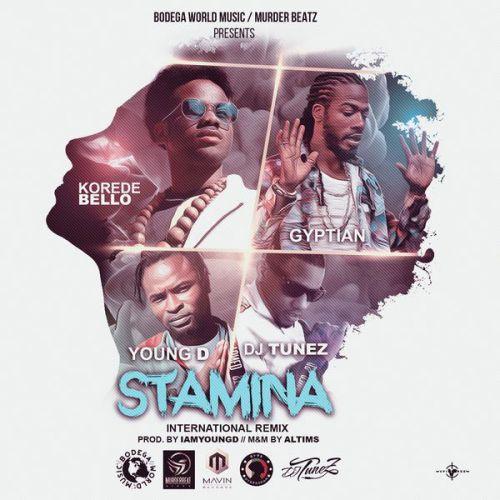Korede Bello x Gyptian x DJ Tunez x Young D – Stamina (International Remix) (Prod. By Altims)